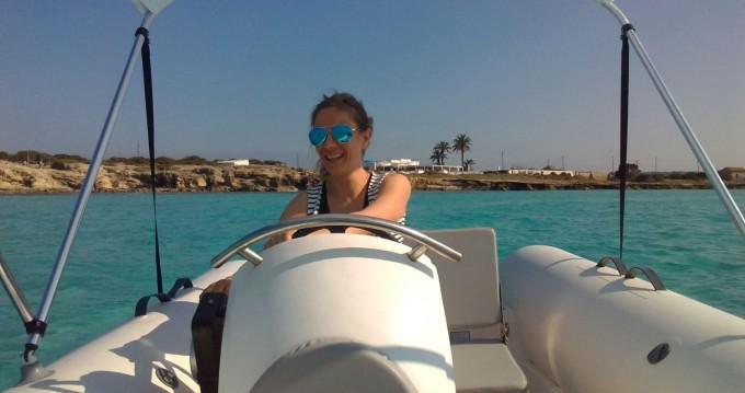Boat rental La Savina cheap 420