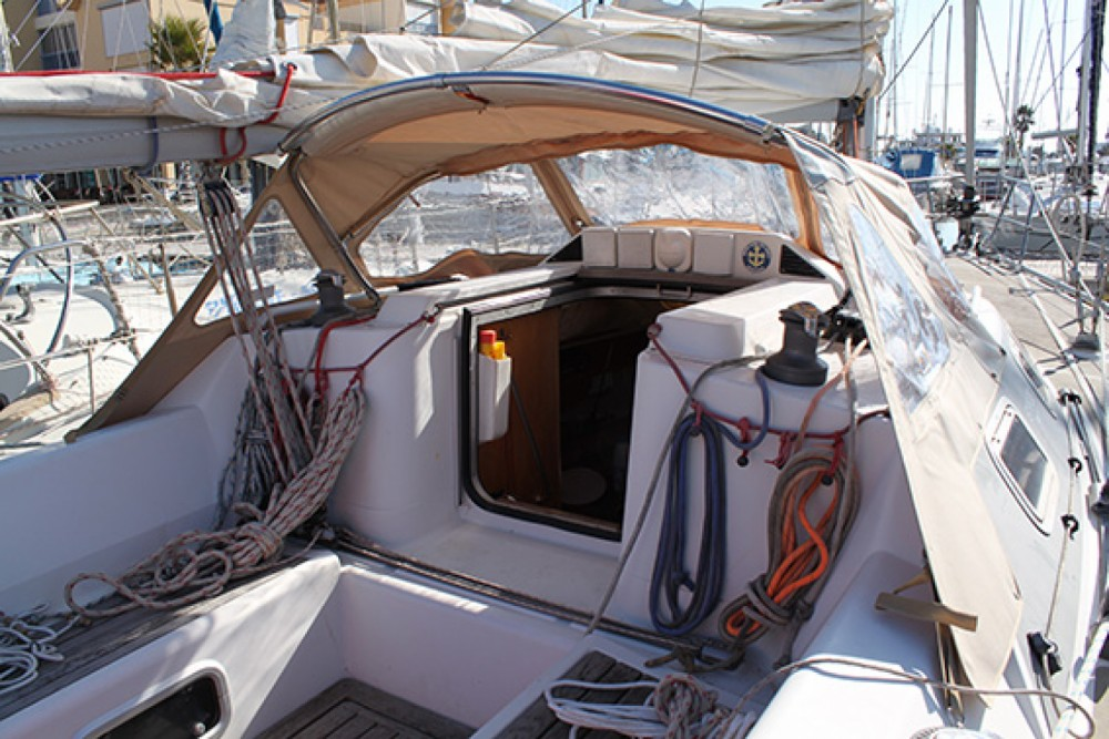 Rental Sailboat Etap with a permit
