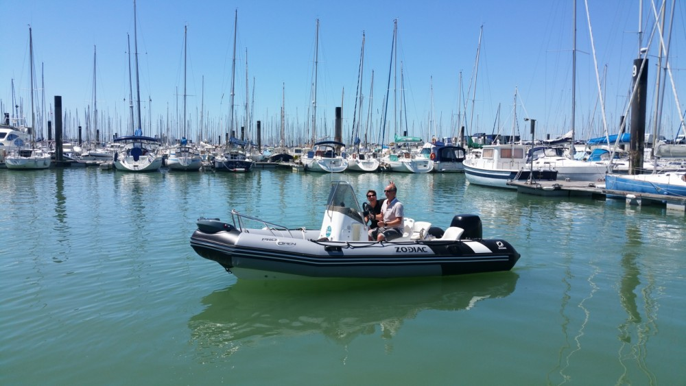 Schlauchboot mieten in La Rochelle - Zodiac Pro Open 550