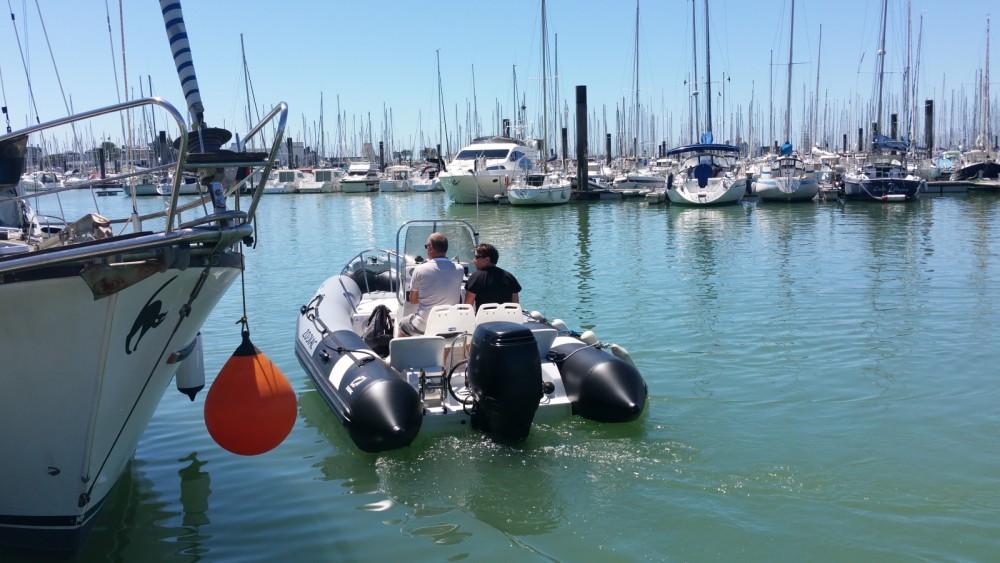 Bootverhuur Zodiac Pro Open 550 in La Rochelle via SamBoat