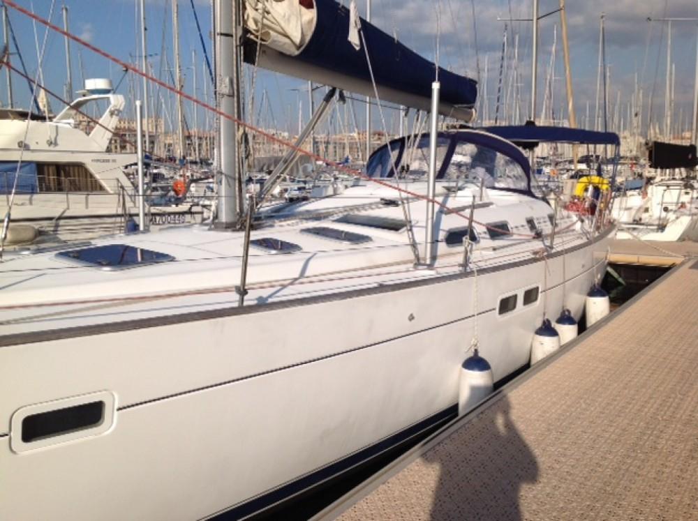 Louer Voilier avec ou sans skipper Bénéteau à Marseille
