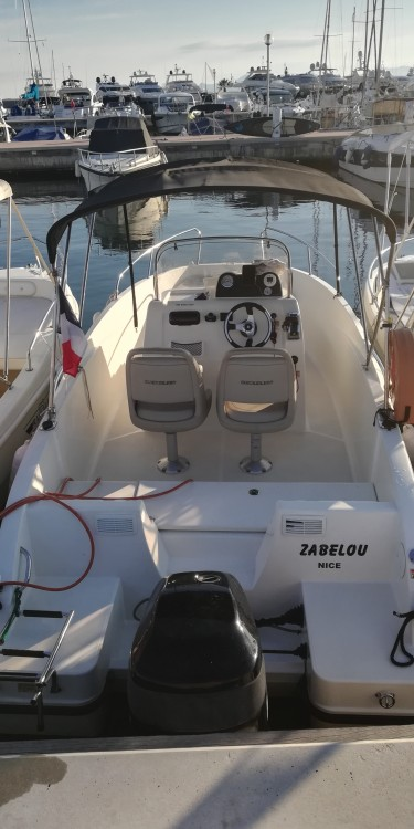Rent a Quicksilver Activ 535 Open Antibes
