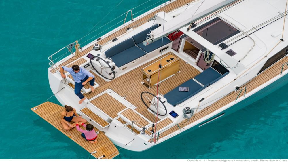 Location bateau Bandol pas cher Oceanis 41.1