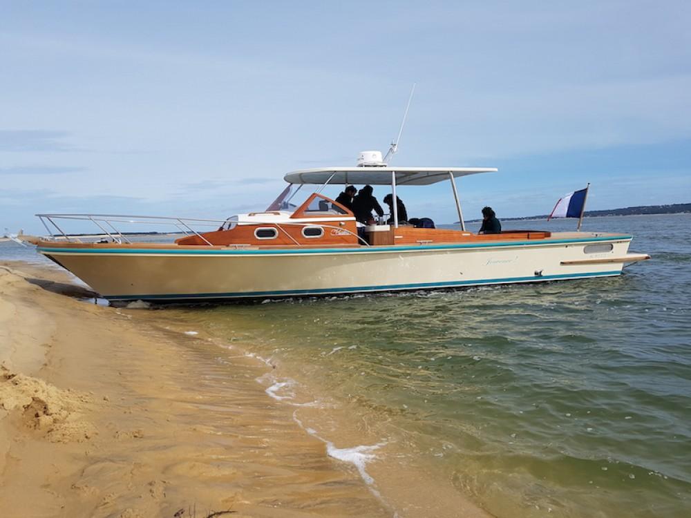 "Noleggio barche Arcachon economico Pinasse ""Cruiser"""