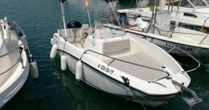 Location bateau Quicksilver Activ 555 Open à Port Ginesta sur Samboat