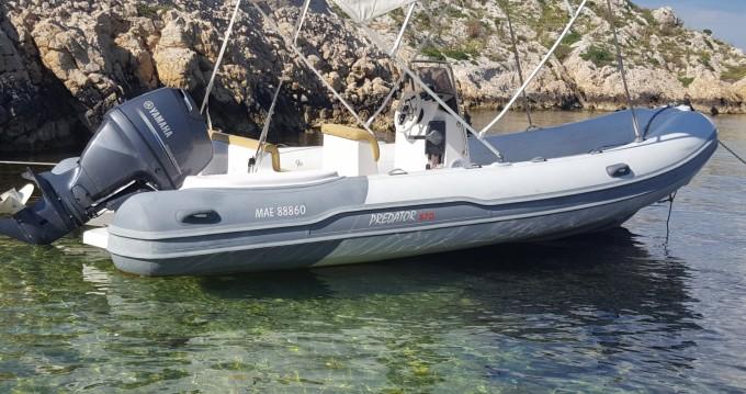 Italboats Predator 570 entre particuliers et professionnel à Marseille
