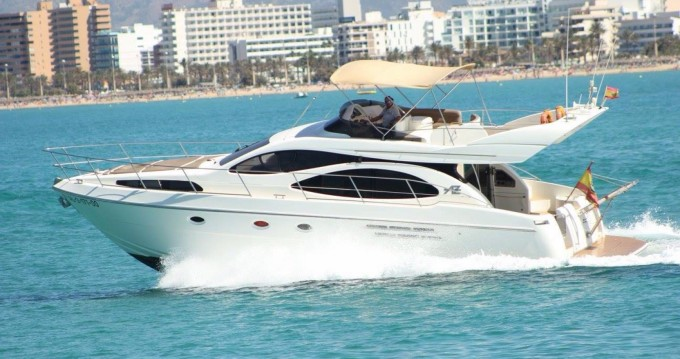 Hire Motor boat with or without skipper Azimut Palma
