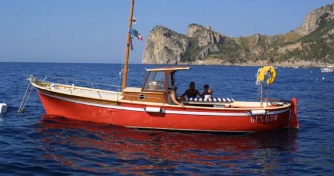 Location yacht à Marina del Cantone - Sorrentino Gozzo sur SamBoat
