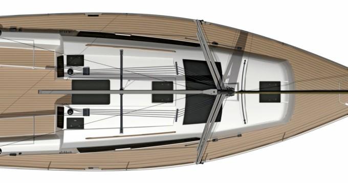 Location yacht à Porquerolles - Dufour Dufour 382 Grand Large sur SamBoat