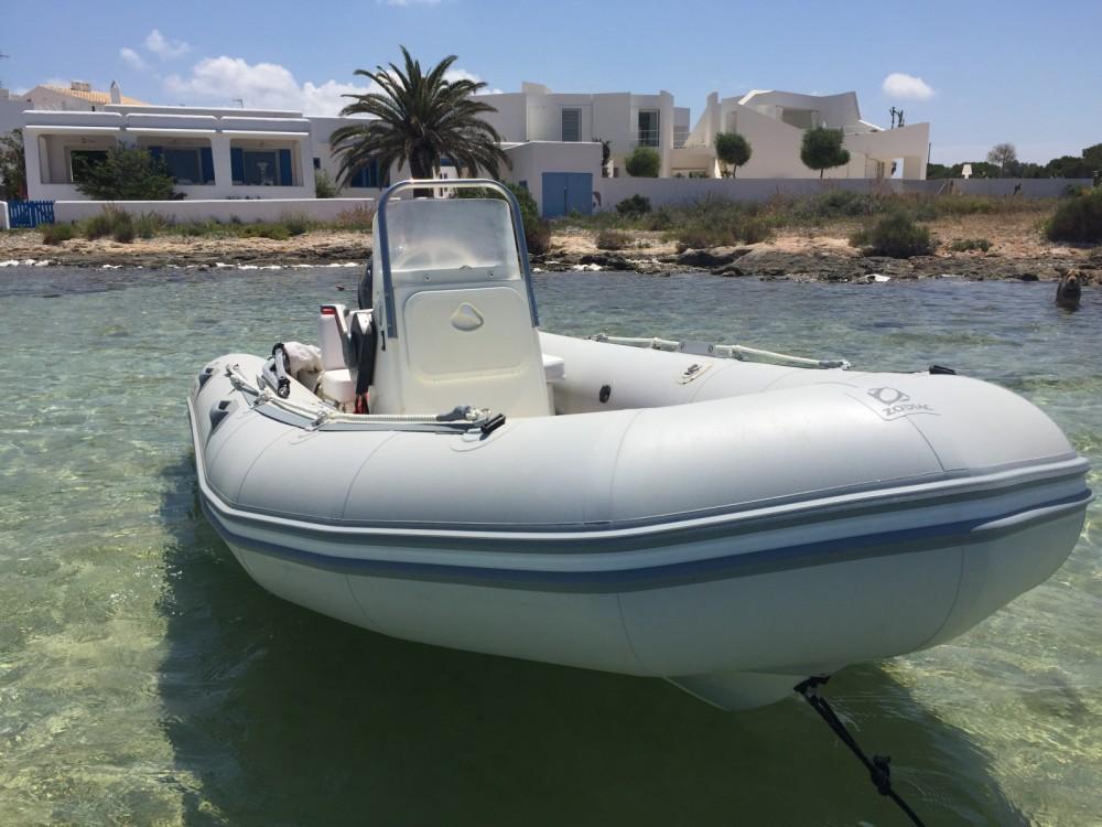 Location Semi-rigide à Formentera - Zodiac Zoom