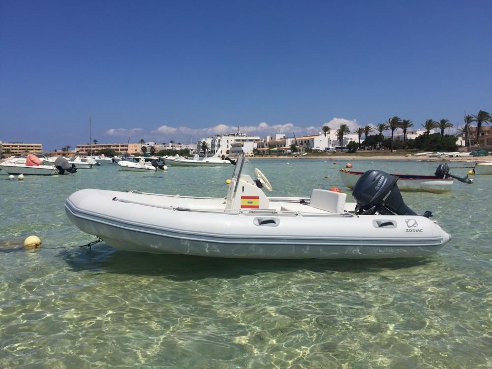 Location yacht à Formentera - Zodiac Zoom sur SamBoat