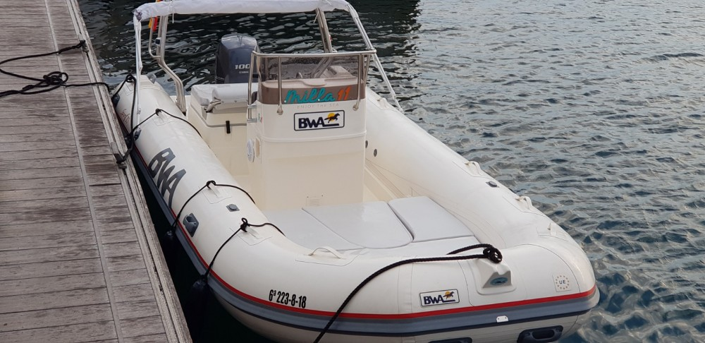 Hire RIB with or without skipper Bwa Alicante