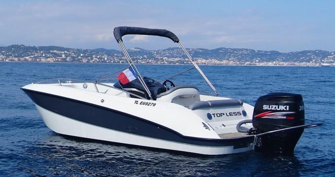 Location Bateau à moteur à Mandelieu-la-Napoule - Clear Aquarius Open