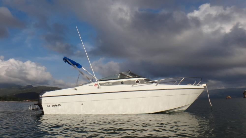 Location bateau Propriano pas cher Leader 550