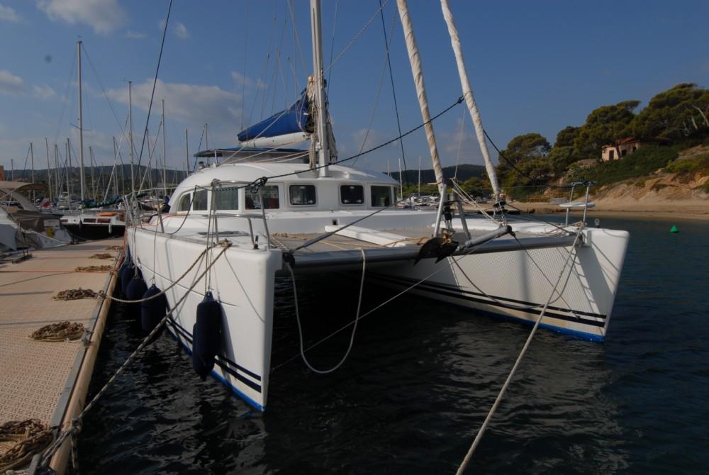 Location bateau Lagoon Lagoon 380 à Ajaccio sur Samboat