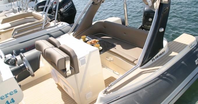 Location Semi-rigide Italboats avec permis