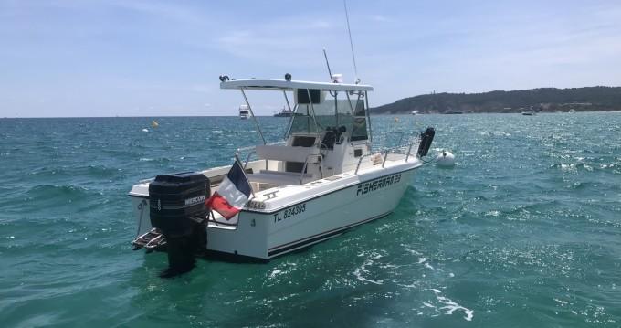Location bateau Zaniboni  Fisherman 23 à Saint-Tropez sur Samboat