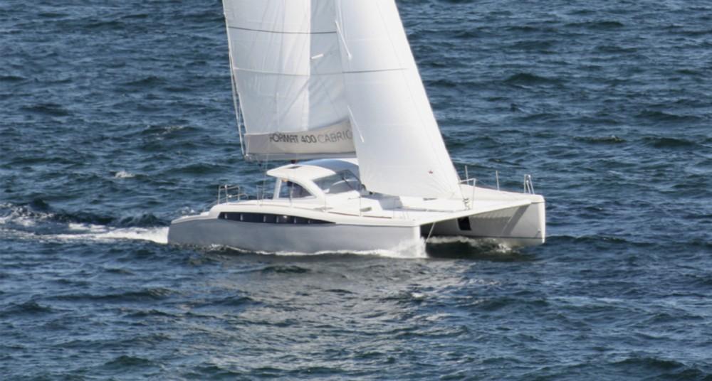 Catamaran Format / Rapier 400 Cabrio between personal and professional Marseille