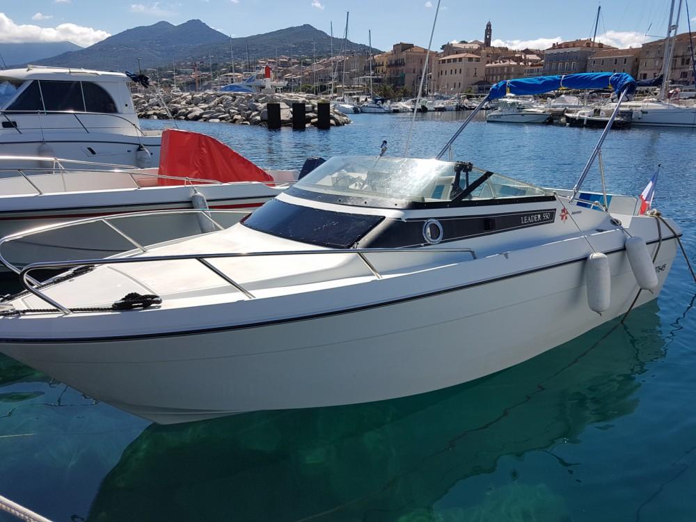 Location bateau Jeanneau Leader 550 à Propriano sur Samboat