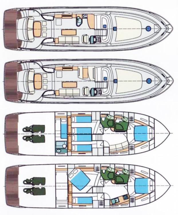 Location bateau Prinz COUPE 54/56 à Bonifacio sur Samboat