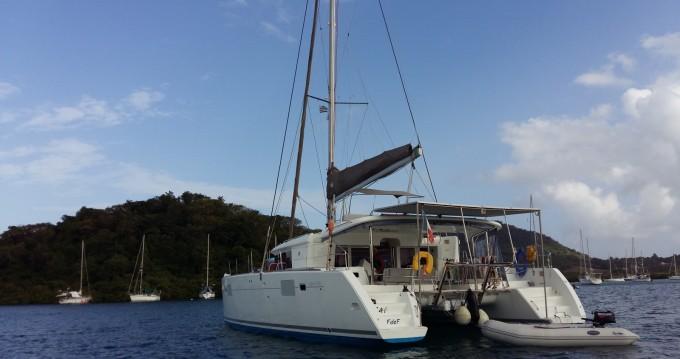Location bateau Lagoon Lagoon 450 à Le Marin sur Samboat