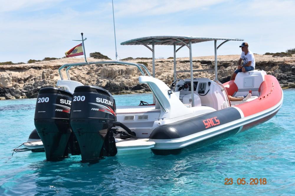 Huur een Sacs Samurai 875 in Ibiza