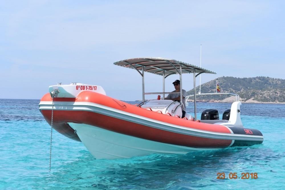 Sacs Samurai 875 te huur van particulier of professional in Ibiza