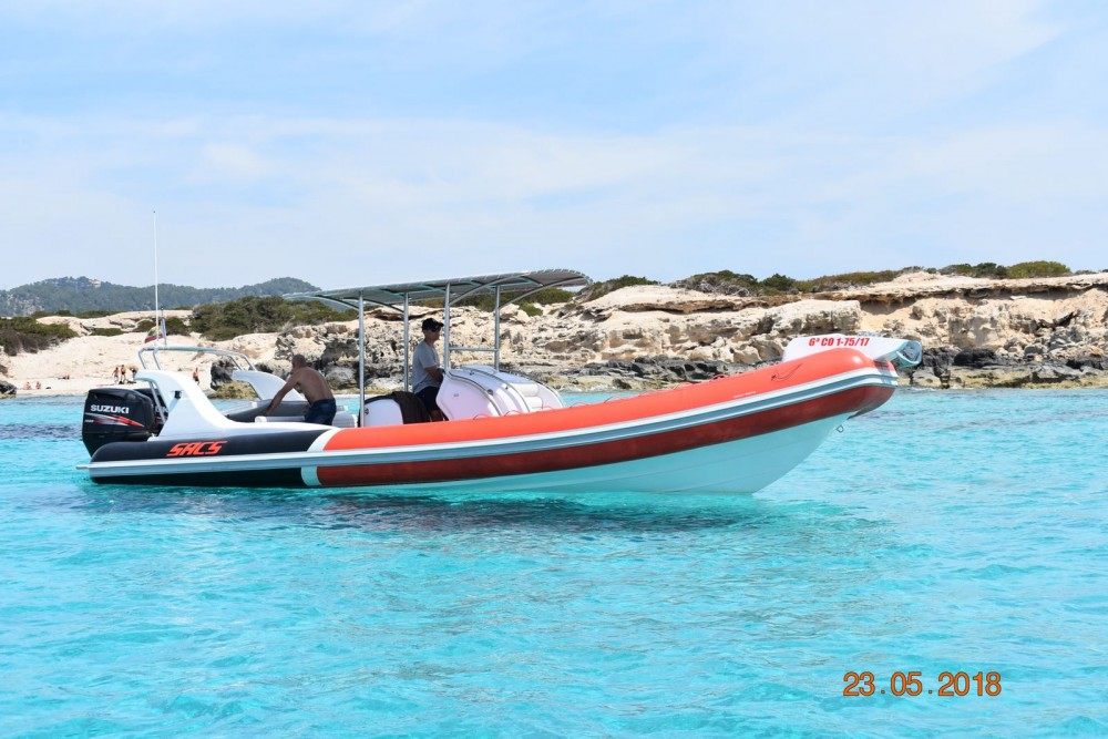 RIB for rent Ibiza city at the best price