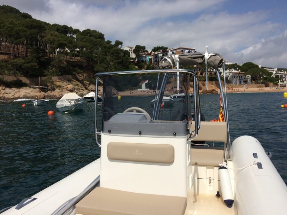 Verhuur Rubberboot in Palafrugell - Capelli Tempest 530
