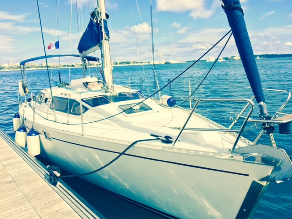 Hire Sailboat with or without skipper Kirie Cannes