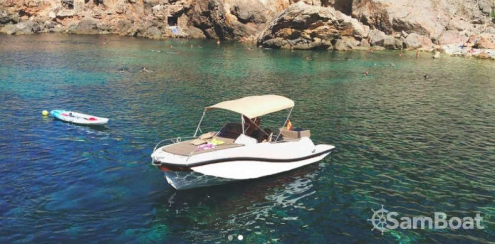 Rental Motor boat V2 with a permit