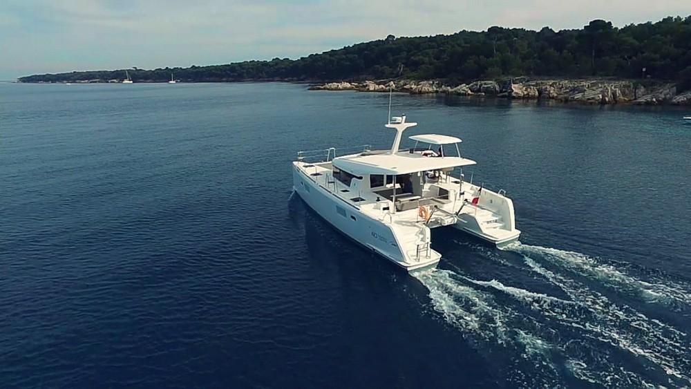 Jachthuur in Cannes - Lagoon Lagoon 40 Motor Yacht via SamBoat