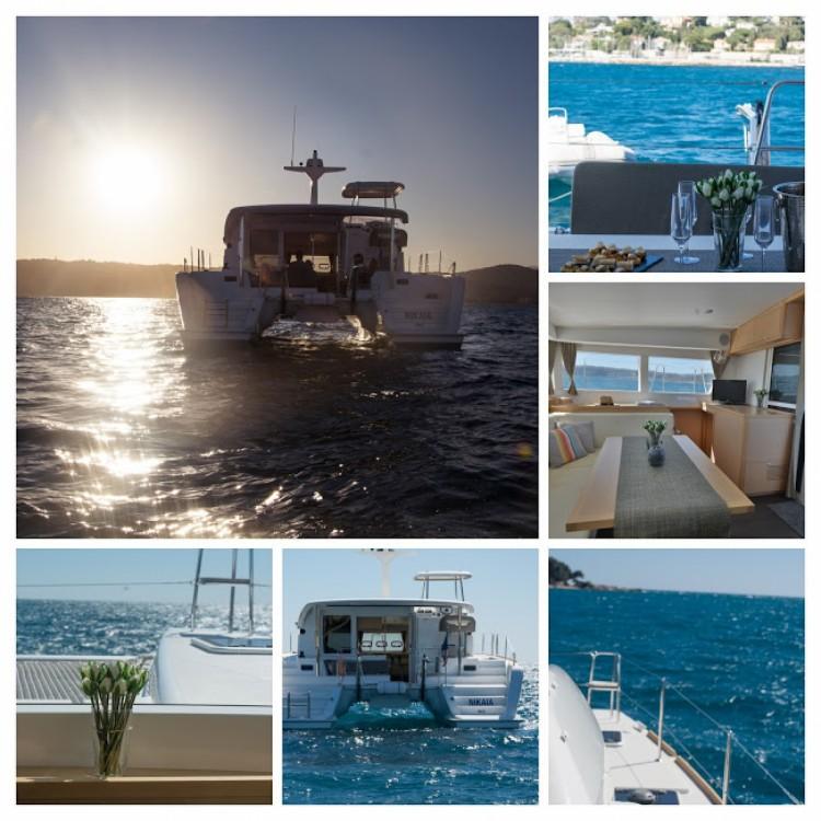 Louer Bateau à moteur avec ou sans skipper Lagoon à Cannes