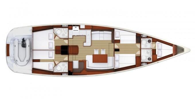 Location yacht à Laurion - Jeanneau Jeanneau 57 sur SamBoat