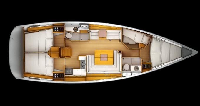 Location yacht à Leucade - Jeanneau Sun Odyssey 449 sur SamBoat