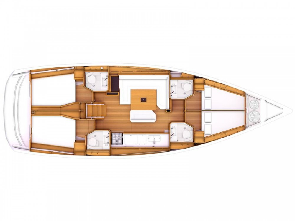 Location bateau Jeanneau Sun Odyssey 479 à Marina Gouvia sur Samboat