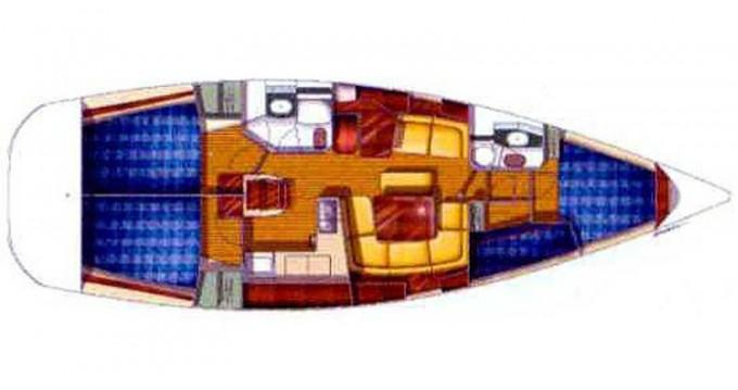 Louez un Jeanneau Sun Odyssey 43DS à Álimos