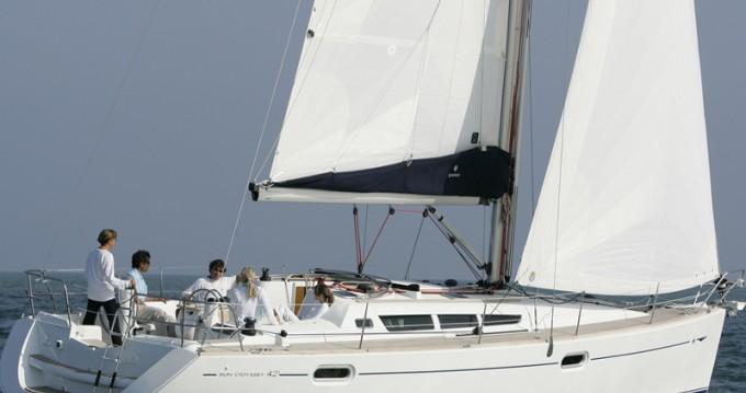 Location bateau Lávrio pas cher Sun Odyssey 42i