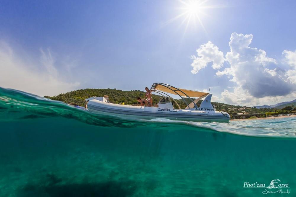 Location bateau Sacs Sacs S 640 à Sari-Solenzara sur Samboat