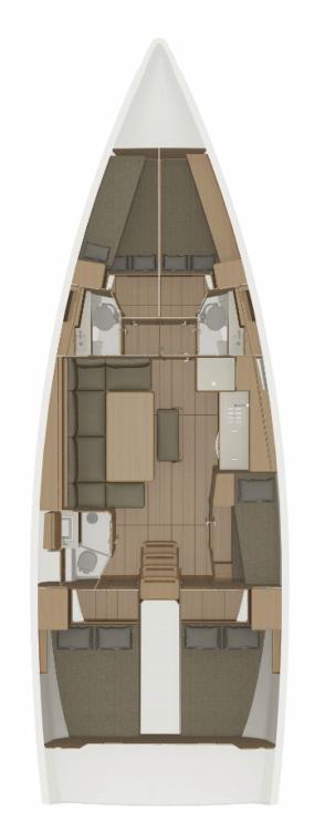 Location yacht à Trogir - Dufour Dufour 460 - 5 cab. sur SamBoat