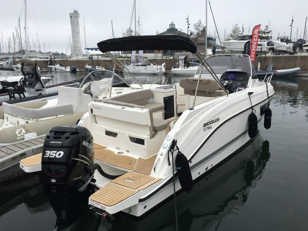 Rental yacht Port-la-Forêt - Quicksilver Quicksilver 805 Sundeck on SamBoat