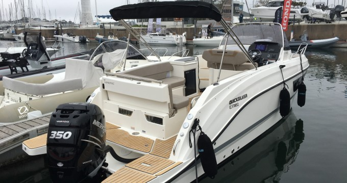 Location yacht à La Forêt-Fouesnant - Quicksilver Quicksilver 805 Sundeck sur SamBoat