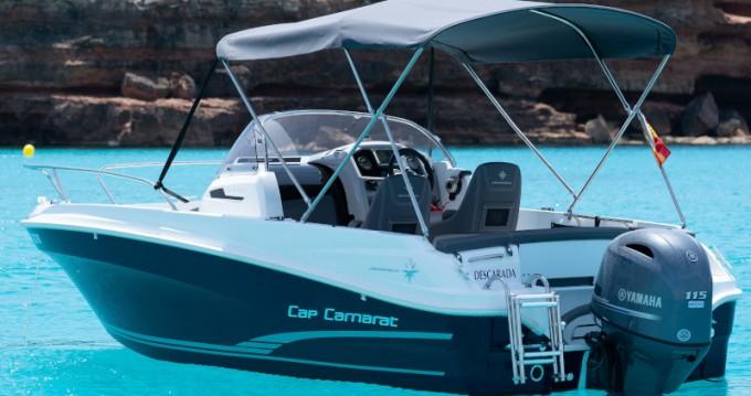 Location bateau Jeanneau Cap Camarat 5.5 WA à Marina Botafoch sur Samboat