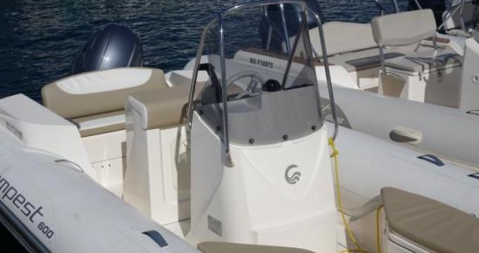 Location bateau Capelli Tempest 600 à Saint-Florent sur Samboat