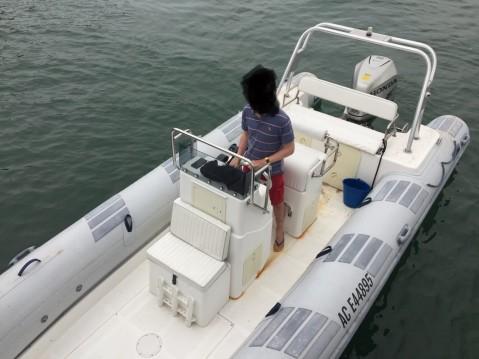 Location bateau Lège-Cap-Ferret pas cher Caribe UB24