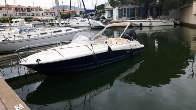 Location yacht à Cogolin - Jeanneau Cap camarat 7.15 WA sur SamBoat