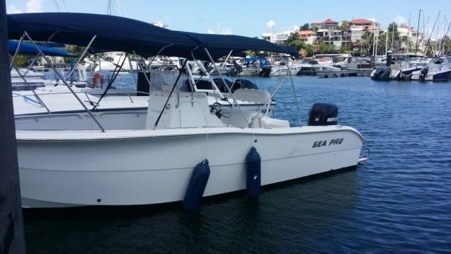 Sea Pro  220c open entre particuliers et professionnel à Pointe-à-Pitre