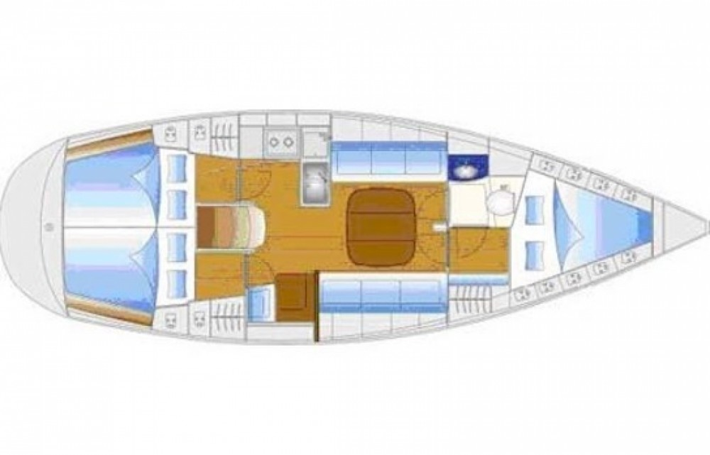 Location bateau Bavaria Bavaria 34 à Arzal sur Samboat