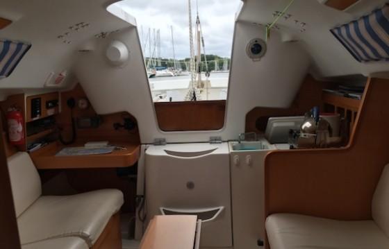 Location yacht à Port-Haliguen - Bénéteau First 25.7 sur SamBoat