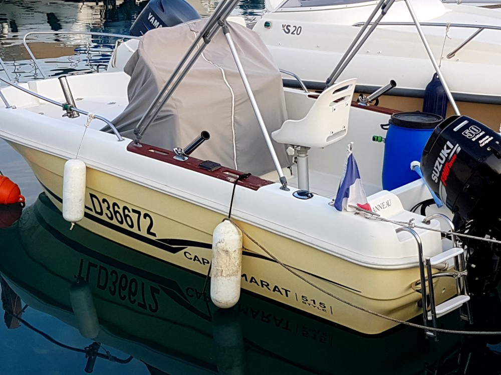 Location yacht à Saint-Laurent-du-Var - Jeanneau Cap Camarat 515 sur SamBoat